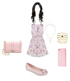 """Clothes aniversário 04/04 1"" by stilys on Polyvore featuring moda, Sole Society, Accessorize, Rebecca Minkoff e Melissa"