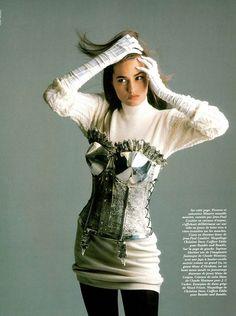 1988 - Yasmin Lebon in Jean Paul Gaultier 4 Vogue