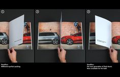 Una gran aplicación del medio para Volkswagen deGrabarz & Partner, para m...
