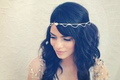 Accessori capelli da sposa in Swarovski look Shabby chic