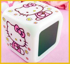 Hello Kitty 7 LED Color Digital Alarm Clock http://www.listia.com/signup/1008045
