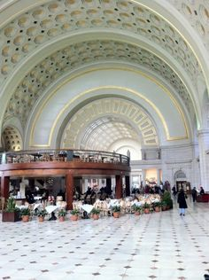 Washington DC Union Station  You must see this to enjoy its beauty! Hope to go there