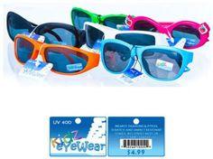 Kidz Eyewear Children's Sunglasses - 180 Units