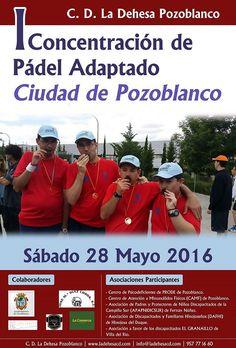 La Dehesa CD organiza la I Concentración de Pádel Adaptado 'Ciudad de Pozoblanco'
