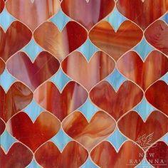 Be still my heart! It's #TileTuesday AND #Valentines Day!! ❤ Gorgeous glass #mosaic #tiles by @newravenna! // #architecture #architettura #designhounds #designinspiration #designdeinteriores #designer #homedecor #homeinspo #homeinterior #instalove #instadesign #instadecor #interiordesign #interiorstyle #mosaics  #pattern #tileometry #tiles #tiledesign #tilework #tilecrush #tileaddiction #tileobsession #tilestyle #walldecor #WhyTile #Coverings2017