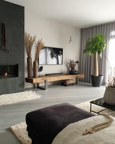 Living Room Lounge, Living Room Grey, Living Room Interior, Home And Living, Living Room Decor, Living Spaces, Study Room Decor, Family Room Walls, Home Decor Inspiration