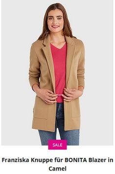 Erhältlich im onlineshop von bonita.de mit 8% Cashback für KGS Partner Kai, Blazer, Jackets, Women, Fashion, Fashion Women, Down Jackets, Moda, Fashion Styles