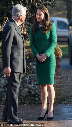 Catherine, Duchess of Cambridge during an official visit to receive an update on The Nook Appeal at EACH on January 24, 2017 in Quidenham, Norfolk.