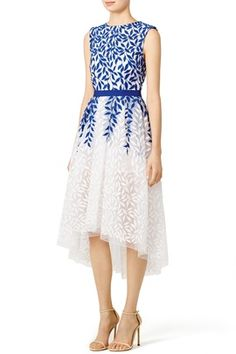 1843516a68 Blue Petal Dress by Christian Pellizzari for Olivia or Tracie  Rent The  Runway
