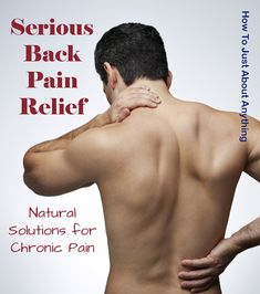 Serious Back Pain Relief With Essential Oils