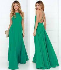 Risultati immagini per abiti damigelle verde
