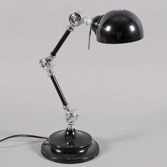 Lampa stołowa Aspen czarna