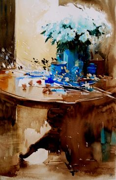 watercolors by Piet Lap