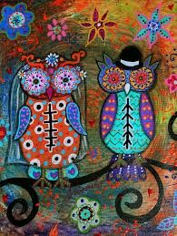 Day of the dead owls