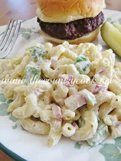 Secret Copycat Restaurant Recipes  KFC Macaroni Salad Recipe