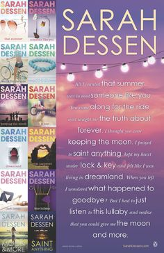For those who love Sarah Dessen's books.?