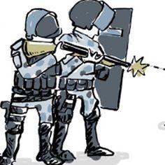 Documento secreto, obtido pela Ponte, afirma que policiais só podem usar munição de borracha contra agressores e que devem mirar nas pernas. Normas são violadas com frequência sem que agentes sejam punidos.