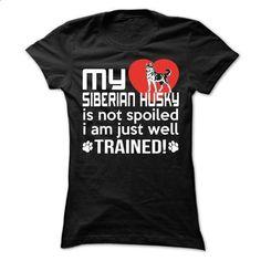 Siberian Husky - #mens casual shirts #dc hoodies. I WANT THIS => https://www.sunfrog.com/Pets/Siberian-Husky-63109998-Ladies.html?60505
