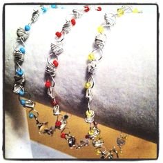 #jewelry #fashion #diy #handmade $8 each