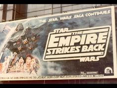 Star Wars Film, Cuadros Star Wars, 1980s Films, Late Night Show, Cloud City, Seven Years Old, Original Trilogy, The Empire Strikes Back, Great Movies