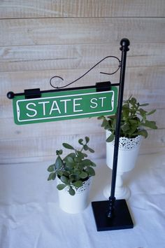Look At This AMAZING Street Sign Post Table Number Holder By Thestandshop On Etsy