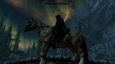 Death rides a pale horse: my favorite screenshot I've taken. #games #Skyrim #elderscrolls #BE3 #gaming #videogames #Concours #NGC
