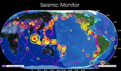 Want to find out where the latest earthquakes are happening? Check out this site.