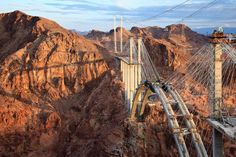 Jamey Stillings - Assignment Photography on the Ground and in the Air - bridge at hoover dam - 12