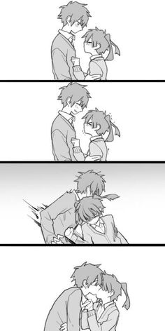 how to kiss a tall boy xD