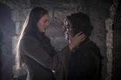 Sansa Stark and Theon Greyjoy season 5