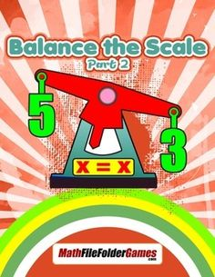 Solving Equations - Balance the Scale, Part 2Now that youve worked with the idea of balancing a scale, its time to extend this idea into using variables for each scale. You want students to see that the values of x and y will change possibly for each equation.