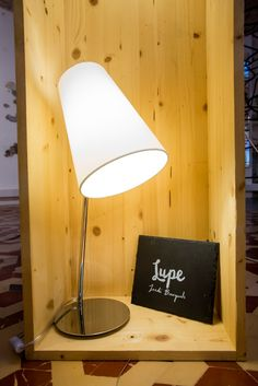 LUPE table lamp by Jordi Busquets