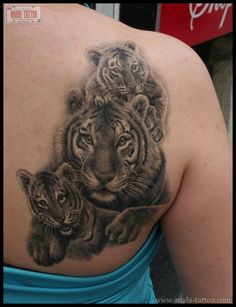 tiger cub tattoo - Google Search