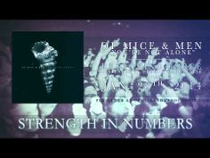 New Of Mice & Men song released! You're Not Alone