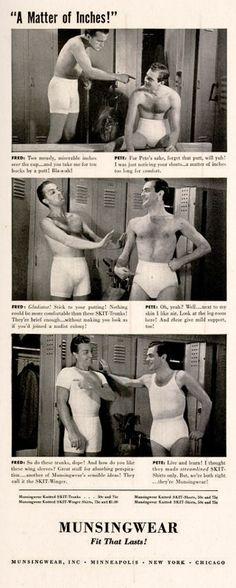 Gay Equality Day: Underwear a-go-go - Vintage Ads