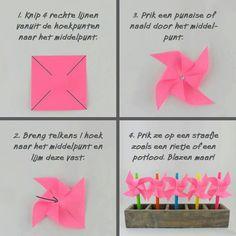 Leuk voor verjaardagen uitdelen op school Diy For Kids, Origami, Place Card Holders, Diy Crafts, Boys, Birthday, Towels, Party Ideas, School
