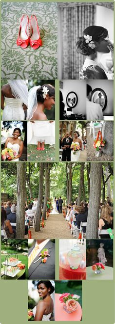 {Real Wedding} Garden Soiree