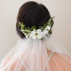 Wedding Flower Comb- Bridal comb- Rustic wedding headpiece- Fern Greenery Comb- Ivory Bridal Headpiece- Hair Vine by OhDinaFlowerCrowns on Etsy https://www.etsy.com/ca/listing/507766693/wedding-flower-comb-bridal-comb-rustic