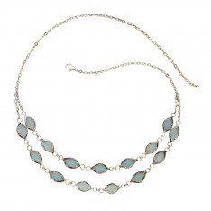 Soft Shimmer Necklace