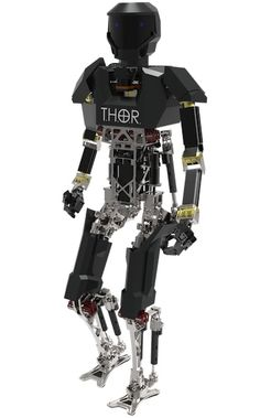 THOR, a Tactical Hazardous Operations Robot, being developed by Virginia Tech is expected to be agile and resilient with perception, planning and human interface technology that infers a human operator's intent, according to the DARPA website.