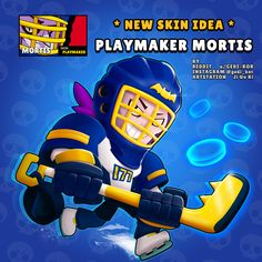 Playmaker Mortis - Rate this skin idea in the comments . Pyssla Pokemon, Paul Chambers, Chibi Marvel, Star Character, Star Wallpaper, Games To Buy, Clash Royale, Free Gems, Star Art
