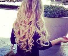 hair #blonde #pretty #hair #long