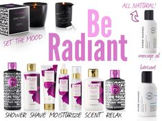 Pure Romance new 2014 Product (Be Radiant) make yourself look and feel better