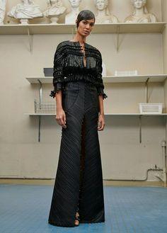 Joan Smalls Défilé Givenchy haute couture automne/hiver 2016-2017