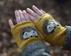 Ravelry: Hedgehog pattern by Natasha Mihailovic, employs multiple techniques - £4.00 GBP