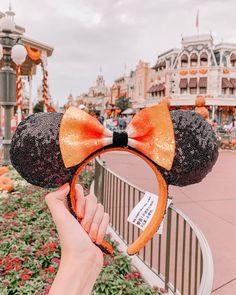 Walt Disney World. These new candy corn-inspired ears are sweet! Disney World Halloween, Disneyland Halloween, Fall Halloween, Disneyland Ears, Disney Style, Disney Love, Disney Magic, Walt Disney, Disney Couples