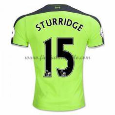 58534af1ab Jalkapallo Pelipaidat Liverpool 2016-17 Sturridge 15 3rd Paita