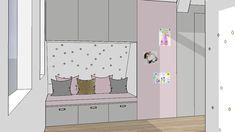 Maatwerk ontwerp voor meubels in 3D   Interieur design by nicole & fleur Drawing Clothes, Very Well, Sim, Ideas Para, Scenery, Bedrooms, Backgrounds, Kids Rugs, Interior Design