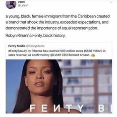 Intersectional Feminism, Rihanna Fenty, Anti Racism, Black Pride, Life Choices, Social Change, Badass Women, Great Women, Faith In Humanity