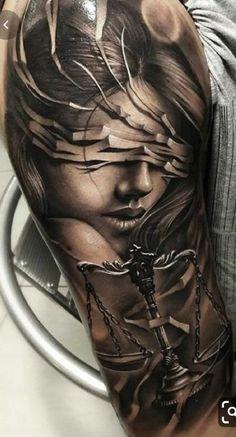Tattoos Arm Mann, Cool Arm Tattoos, Black Ink Tattoos, Best Sleeve Tattoos, Arm Tattoos For Women, Badass Tattoos, Fake Tattoos, Tattoo Sleeve Designs, Flower Tattoo Designs